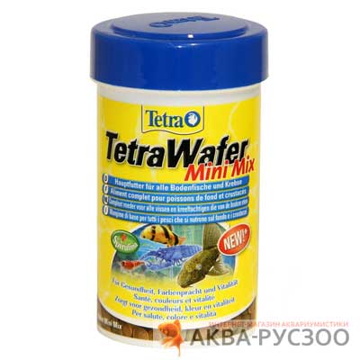 Корм для рыб TETRA WAFER MINI MIX 100 мл