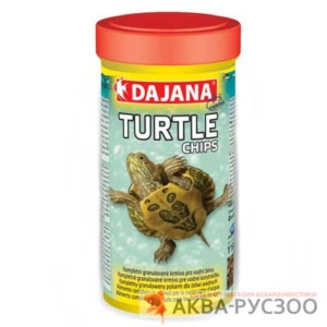 Корм для черепах DAJANA PET TURTLE CHIPS 250 мл