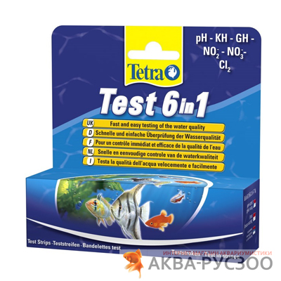 ТЕСТ TETRA STRIPES 6 IN 1 GH