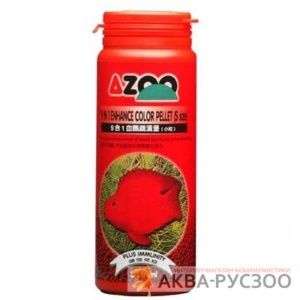 Корм для рыб AZOO 9 IN 1 ENHANCE COLOR PELLET