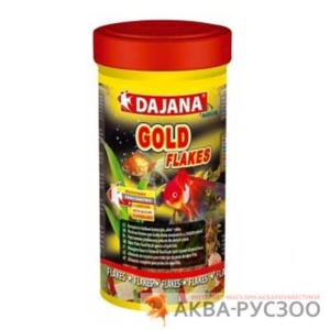 Корм для рыб DAJANA PET GOLD FLAKES 250 мл