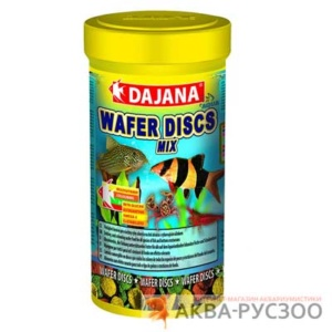 Корм для рыб DAJANA PET WAFER DISCS MIX 100 мл