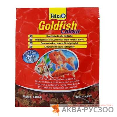 TETRA GOLDFISH COLOUR 12 г