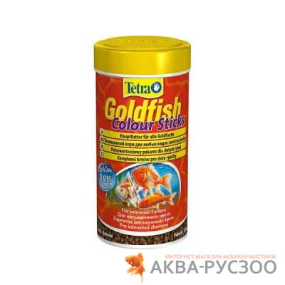 TETRA GOLDFISH COLOUR STICKS 250 мл