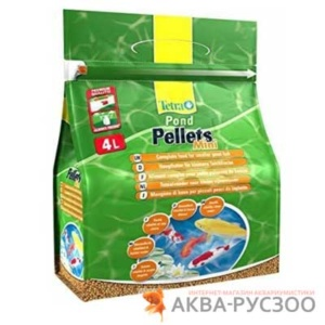 TETRA POND PELLETS MINI 4 л
