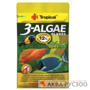 TROPICAL 3- ALGAE Flakes12г