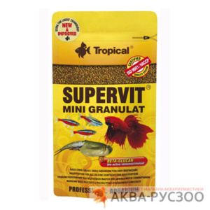 TROPICAL SUPERVIT Мini Granulat 10г